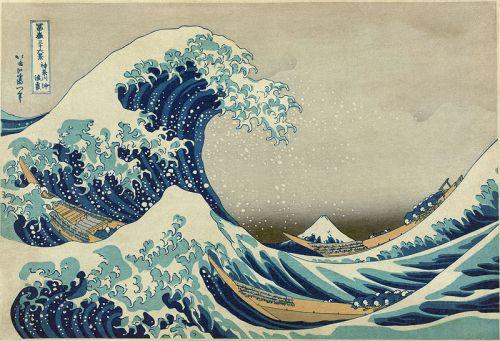 Katsushika Hokusai, Kanagawa oki nami ura – The Great Wave off Kanagawa