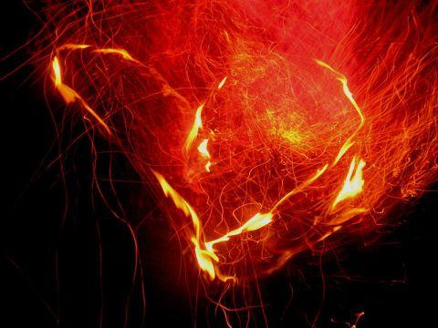 Herz aus Flammen 3