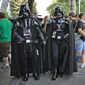 Darth Vader meets Fern Vader