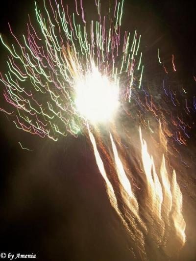 Feuerwerk von Christin