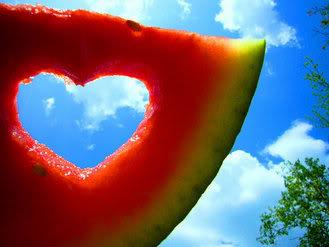 Melonensommerherz