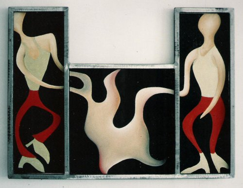 Ohne Titel, by Triloff, gemalt vor/bis 1992.