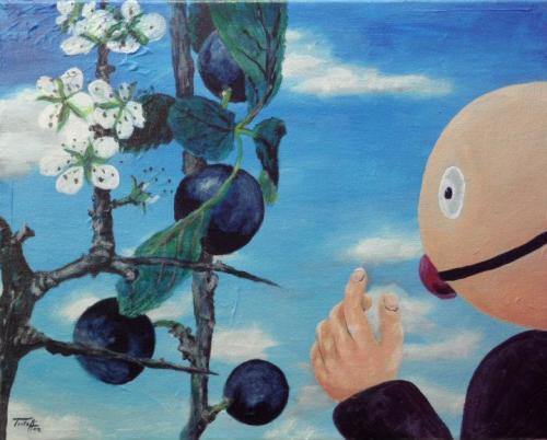 Ohne Titel (Gagballbabies), by Triloff